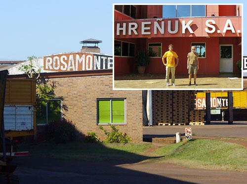 Rosamonte fabryka