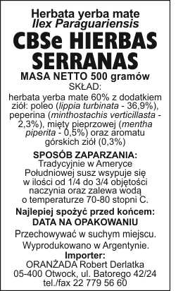 CBSe_Hierbas_Serranas_na_paczke