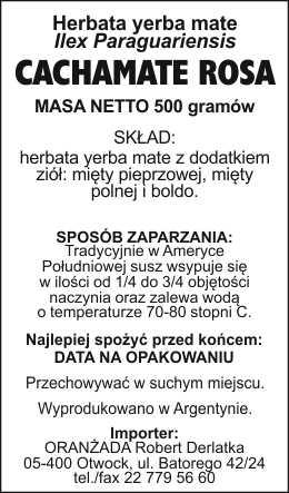 Cachamate_Rosa_na_paczke