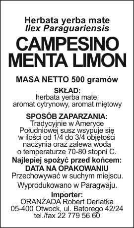 Campesino_Menta_Limon_na_paczke