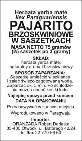 PAJARITO_brzoskwiniowe_szaszetki_na_paczke