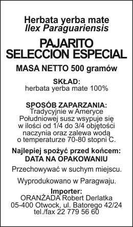 Pajarito_Seleccion_Especial