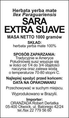 Sara_Extra_Suave_na_paczke