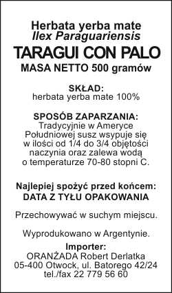 TARAGUI_CON_PALO_500g_na_paczke