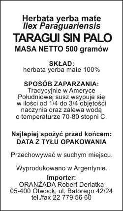 TARAGUI_SIN_PALO_500g_na_paczke